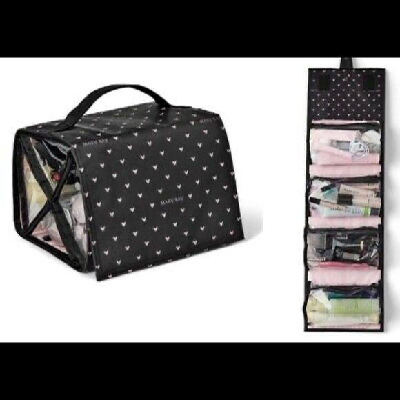 Mary Kay travel roll up bag w/ removable pouches
